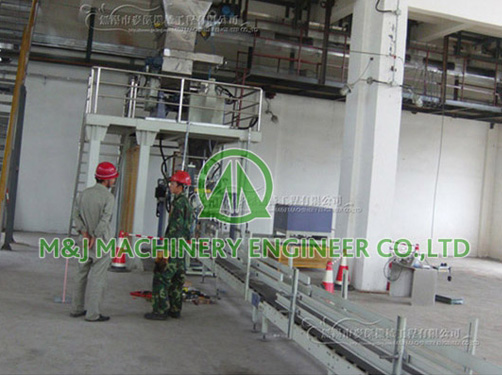 Full automatic packing line